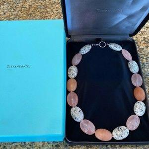 TIFFANY & CO. ~GIANT Multi-Gem Stone Bead Necklace